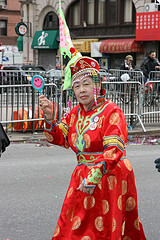 Chinese New Year parade, New York, 2008