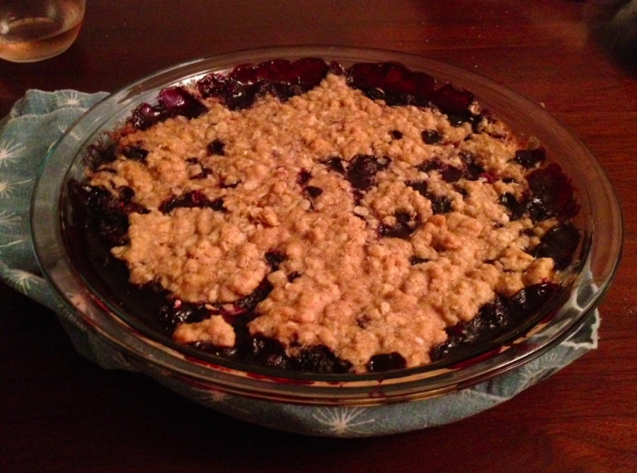 Berry Crumble, Good House Guest